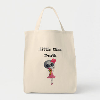 Little Miss Death with Halloween Ice Cream Bags