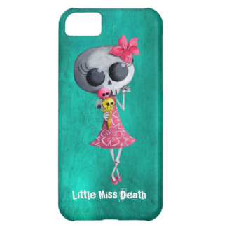 Little Miss Death with Halloween Ice Cream iPhone 5C Covers