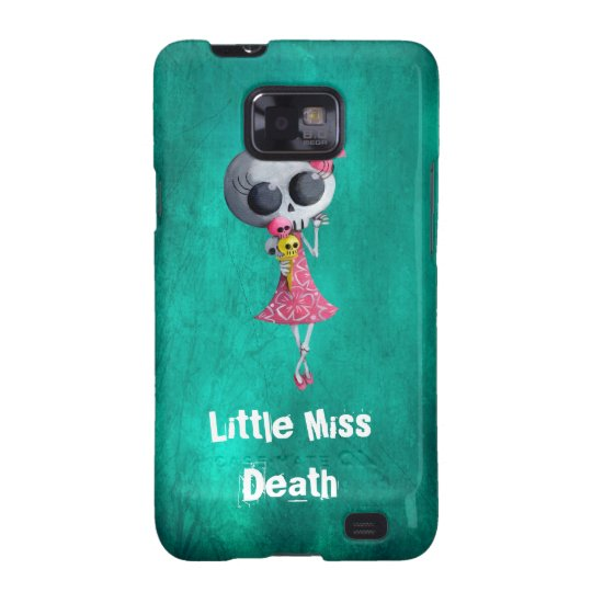 Little Miss Death with Halloween Ice Cream Galaxy SII Cover
