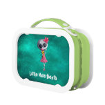 Little Miss Death with Halloween Ice Cream Lunch Box
