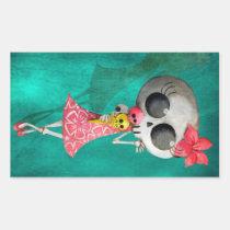 artsprojekt, halloween, emo gift, halloween girl, skull, ice cream, halloween gift, cute halloween, skeleton, cute skeleton, halloween illustration, halloween idea, trick or treat, halloween design, skeleton pin up, halloween pin up, skeleton girl, halloween ice cream, halloween present, emo present, skeleton present, skeleton gift, Sticker with custom graphic design