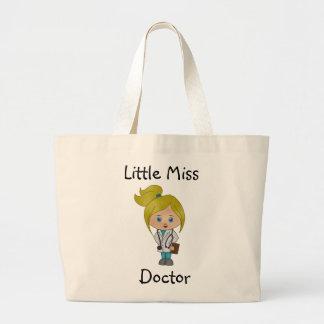 Little Miss Doctor - Cute Blonde Tote Bag