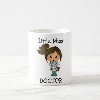 Little Miss Doctor - Cute Brunette Classic White Coffee Mug