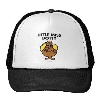 Little Miss Dotty | Black Lettering Trucker Hat