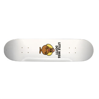 Little Miss Dotty | Black Lettering Skateboard Deck