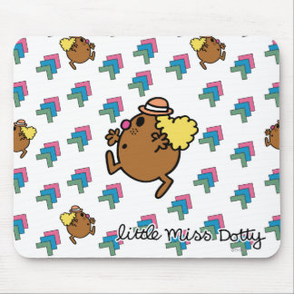 Little Miss Dotty | Colorful Dots Mouse Pad