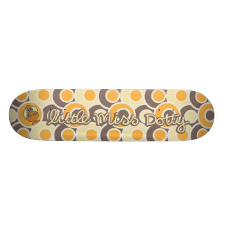 Little Miss Dotty | Colorful Dots Skate Board