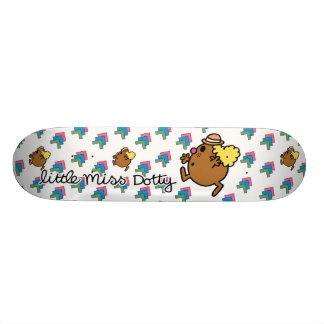 Little Miss Dotty | Colorful Dots Skateboard Deck