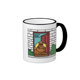 Little Miss Dotty Opens Door Mugs