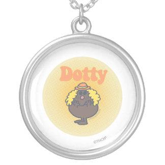 Little Miss Dotty | Spotlight Round Pendant Necklace