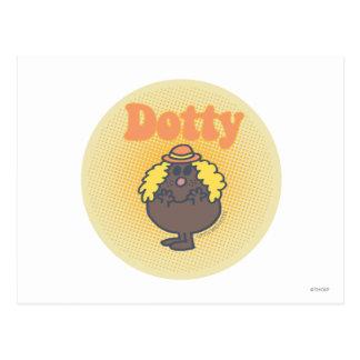 Little Miss Dotty | Spotlight Postcard
