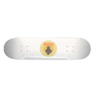 Little Miss Dotty | Spotlight Skateboard Deck