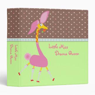 Little Miss Drama Queen Binder - Customizable