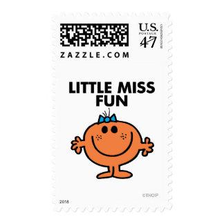 Little Miss Fun | Black Lettering Postage