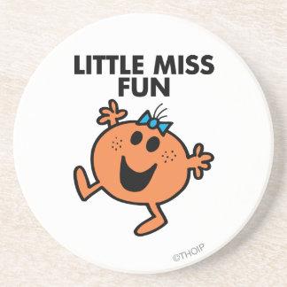 Little Miss Fun Classic 2 Drink Coasters