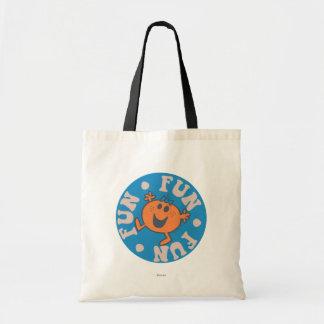 Little Miss Fun Fun Fun Budget Tote Bag