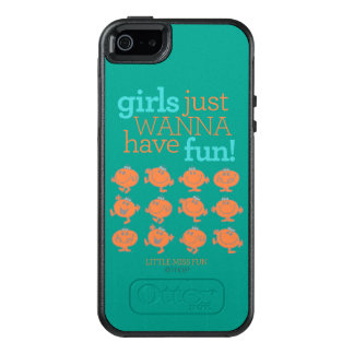 Little Miss Fun | Girls Just Wanna Have Fun OtterBox iPhone 5/5s/SE Case