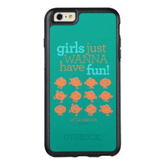 Little Miss Fun | Girls Just Wanna Have Fun OtterBox iPhone 6/6s Plus Case