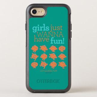 Little Miss Fun | Girls Just Wanna Have Fun OtterBox Symmetry iPhone 7 Case