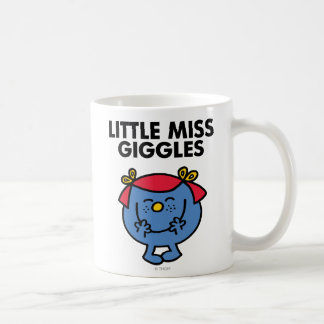 Little Miss Giggles | Black Lettering Coffee Mug