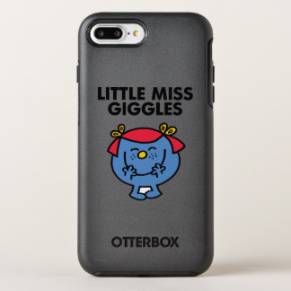 Little Miss Giggles | Black Lettering OtterBox Symmetry iPhone 8 Plus/7 Plus Case
