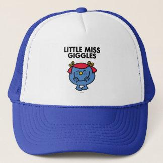 Little Miss Giggles | Black Lettering Trucker Hat