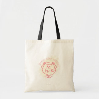 Little Miss Giggles Coral Patch Canvas Bags