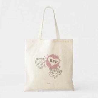 Little Miss Giggles & Little Miss Sunshine | BFFs Tote Bag