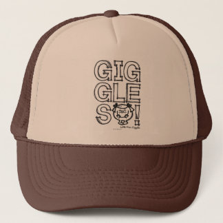 Little Miss Giggles Sketch Trucker Hat