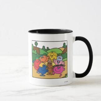 Little Miss Group Of Friends Mug