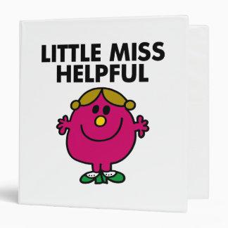 Little Miss Helpful Classic Binder