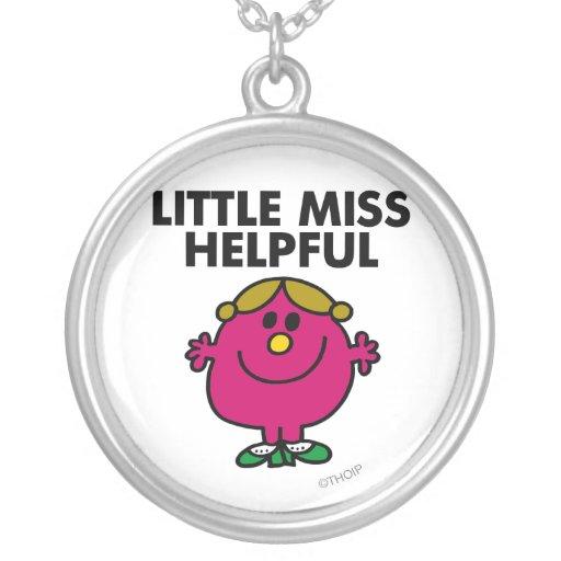 Little Miss Helpful Classic Jewelry