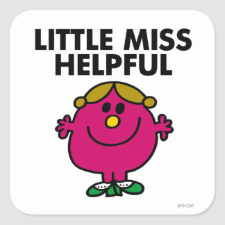 Little Miss Helpful Classic Stickers