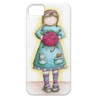 """""""Little Miss Knittie"""" iPhone case"""