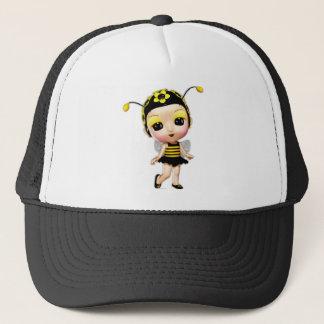 Little Miss Lady Bumblebee Trucker Hat
