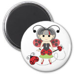 Little Miss Ladybug Fairy Party Favor Cute Magnet