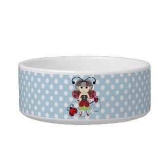 Little Miss Ladybug Fairy Princess and Bug Wand Bowl