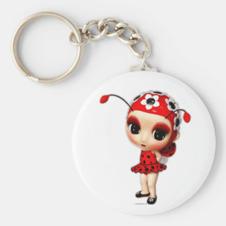 Little Miss Ladybug Key Chains