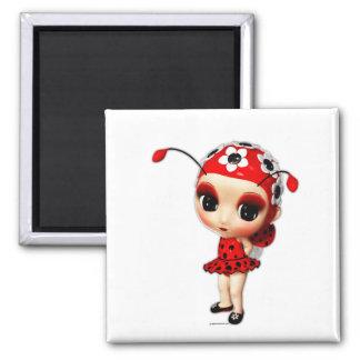 Little Miss Ladybug Magnet