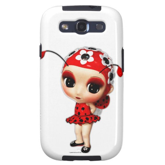 Little Miss Ladybug Samsung Galaxy S3 Case