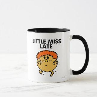 Little Miss Late | Black Lettering Mug