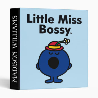 Little Miss | Little Miss Bossy is So Bossy Binder