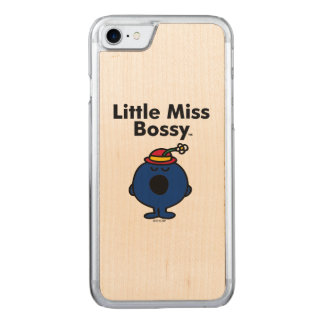 Little Miss | Little Miss Bossy is So Bossy Carved iPhone 7 Case