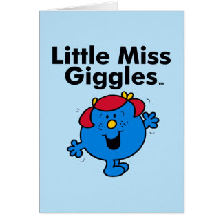Little Miss | Little Miss Giggles Likes To Laugh Card