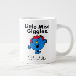 Little Miss | Little Miss Giggles Likes To Laugh Large Coffee Mug