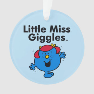 Little Miss | Little Miss Giggles Likes To Laugh Ornament