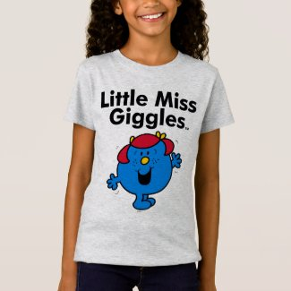 Little Miss | Little Miss Giggles Likes To Laugh T-Shirt