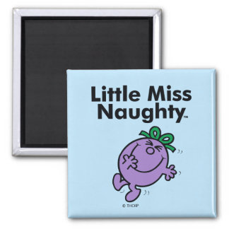 Little Miss | Little Miss Naughty is So Naughty Magnet