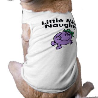 Little Miss | Little Miss Naughty is So Naughty Tee