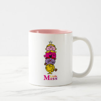 Little Miss | Little Miss Standing Tall Two-Tone Coffee Mug